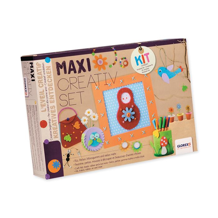 Glorex Bastelpackung, Maxi Creativ Set