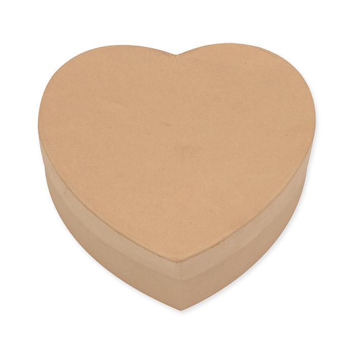Glorex Box di cartone con forma di cuore