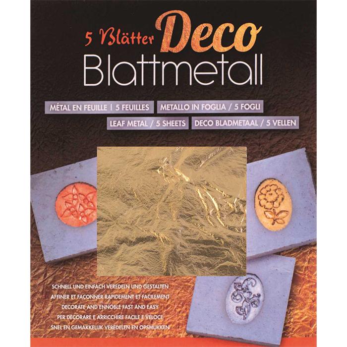 Glorex Blattmetall goldfarben