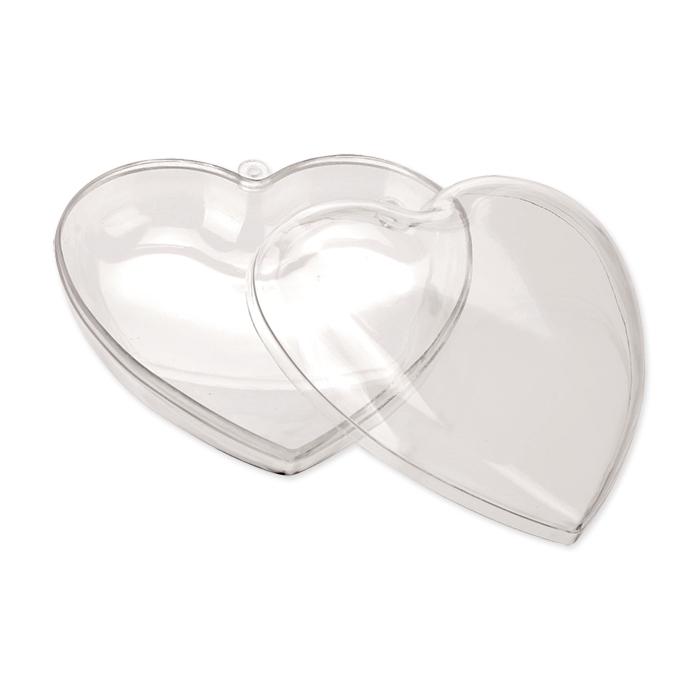 Glorex Kunststoff-Herz teilbar 140 mm