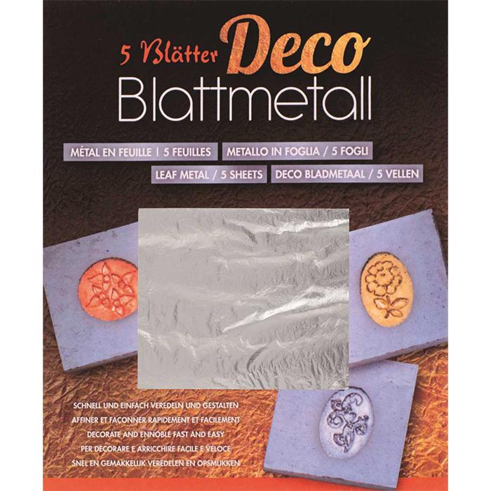 Glorex Leaf metall silver