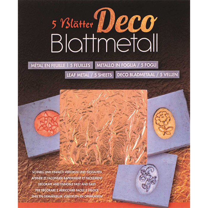 Glorex Leaf metall coppery