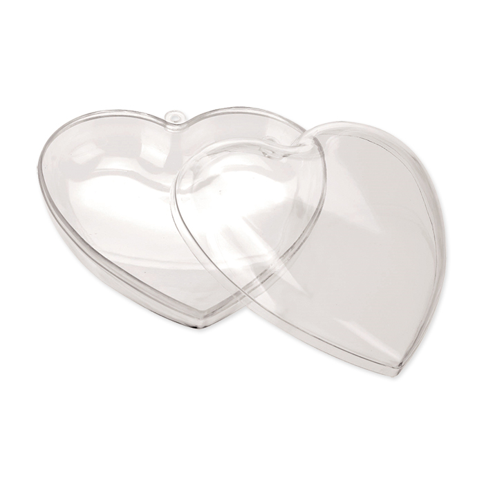 Glorex separable plastic hearts 140 mm