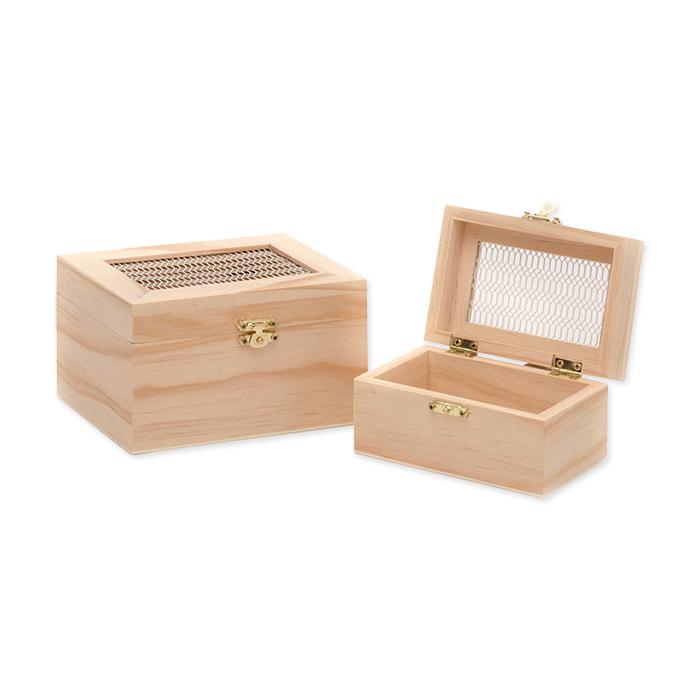 Glorex FSC wooden box