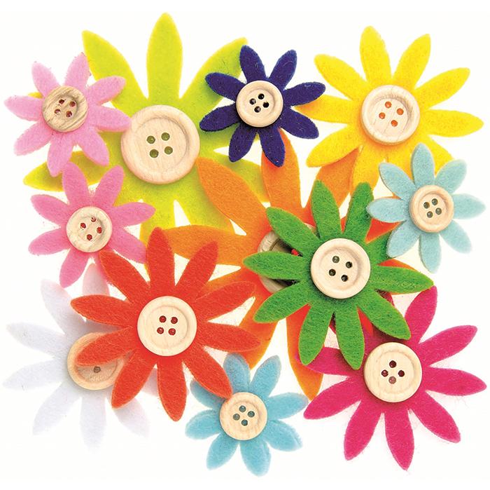 Glorex Felt Flowers
