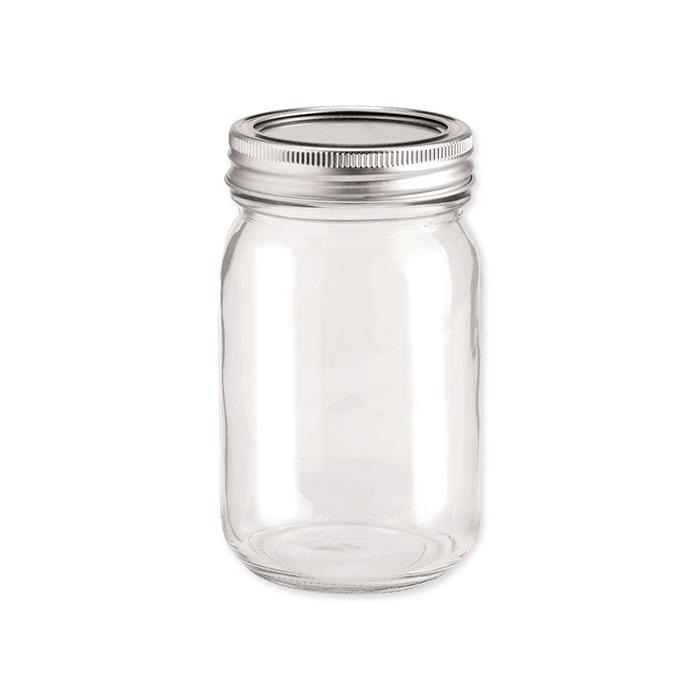 Glorex Glas mit Deckel
