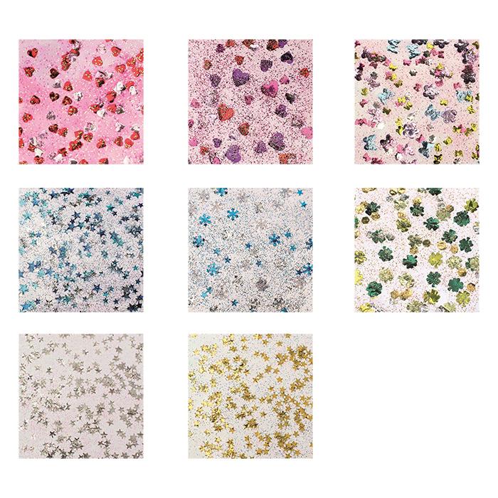 Glorex Glitter glue Confetti 53 ml