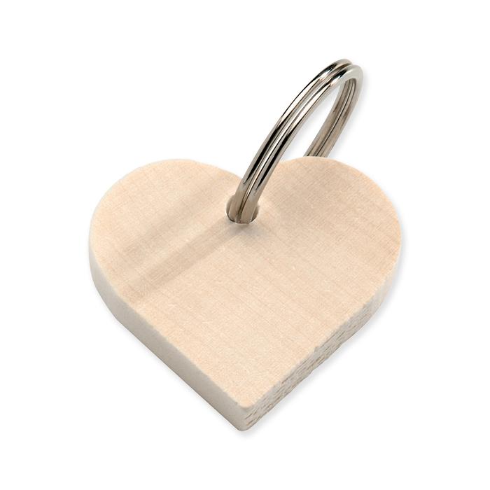 Glorex Holz Schlüsselanhänger
