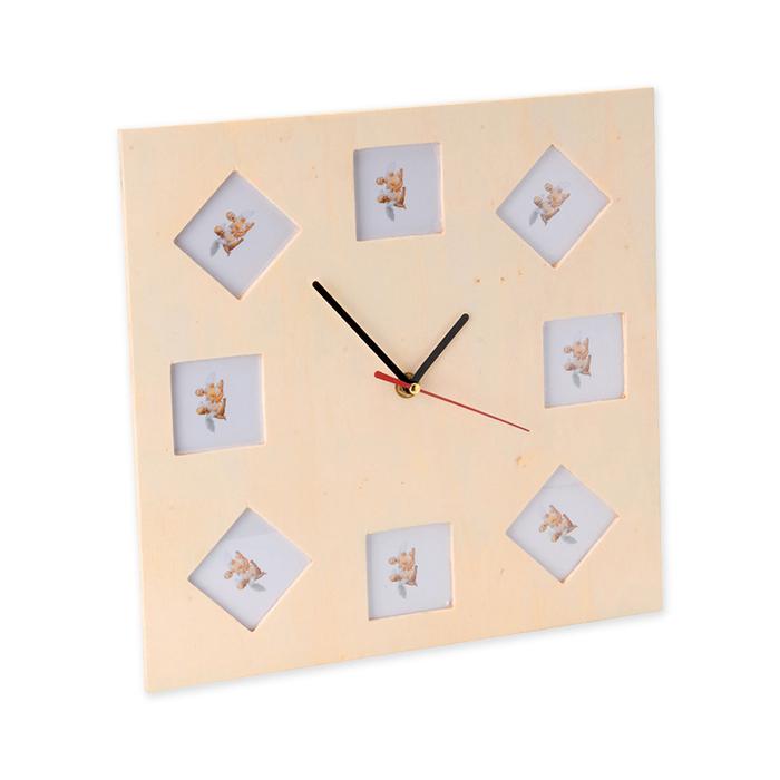 Glorex Holz-Uhr FSC