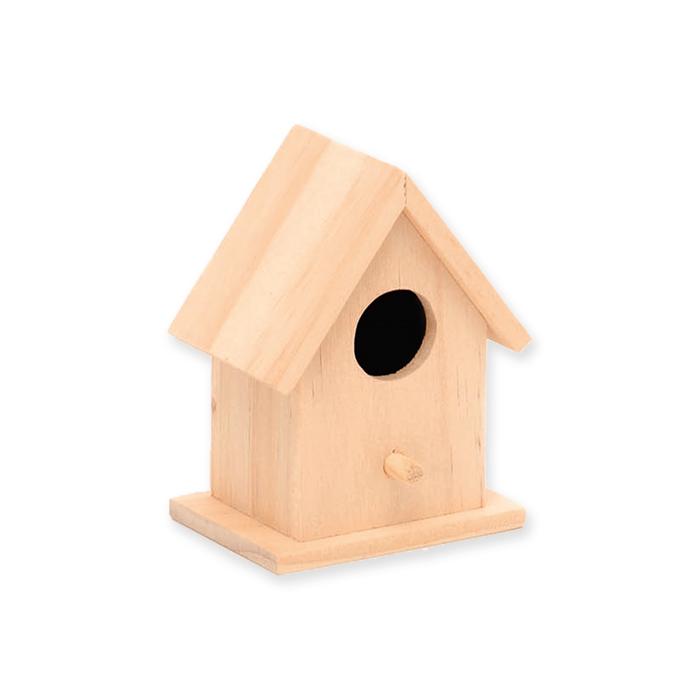 Glorex Holz-Vogelhaus FSC