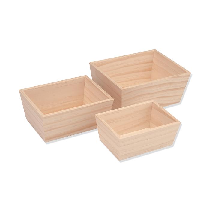 Glorex Holzboxen FSC