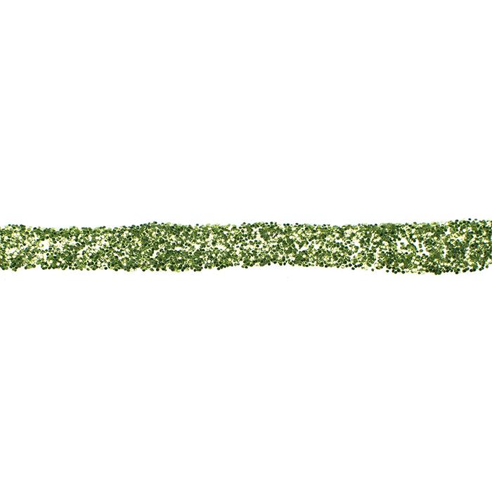 Glorex glitter glue 60 ml light green