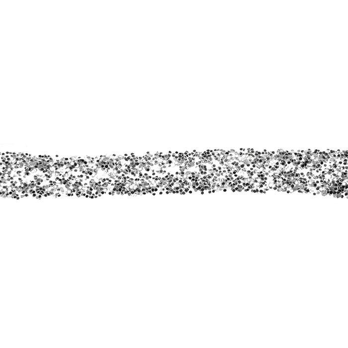 Glorex glitter glue 60 ml silber