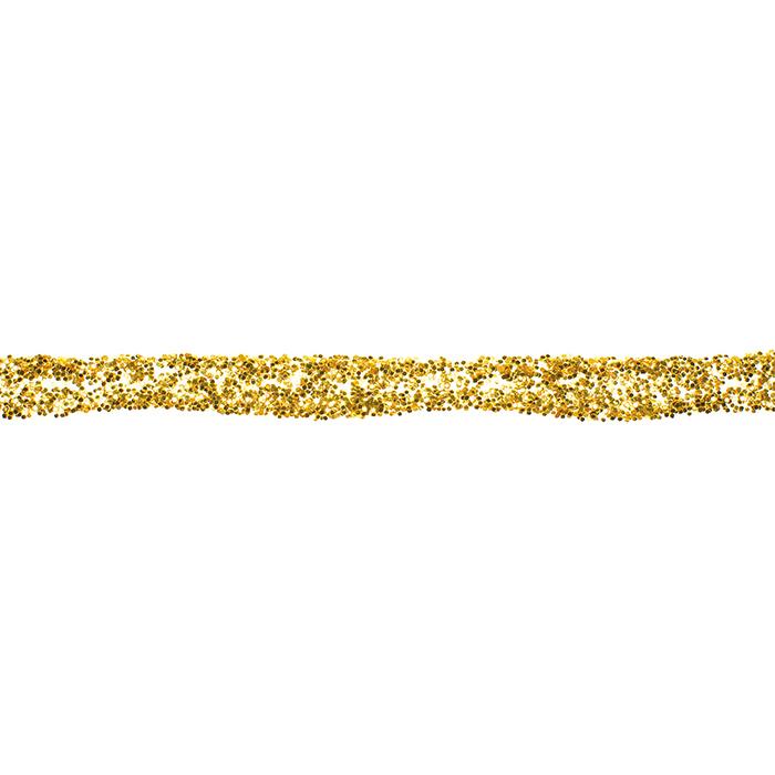 Glorex glitter glue 60 ml light gold