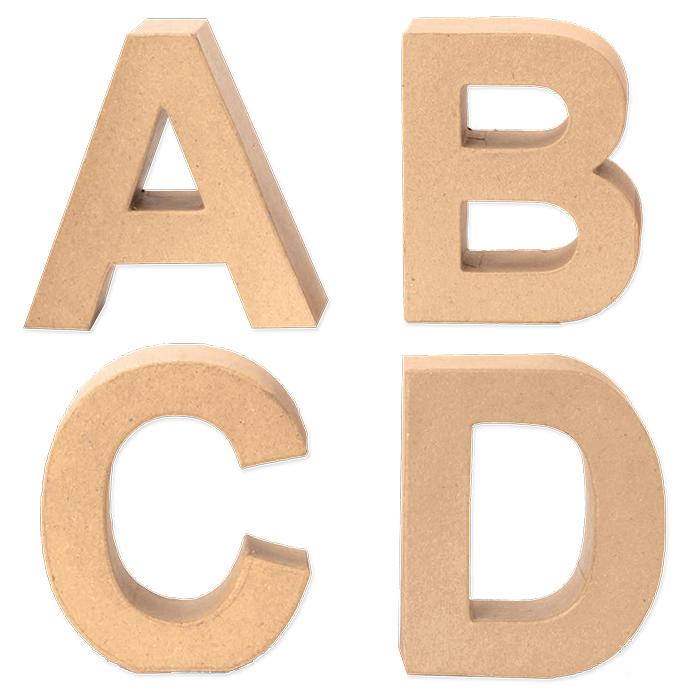 Glorex Papp-Buchstaben
