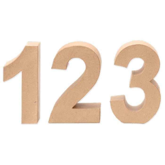 Glorex Papp-Zahlen