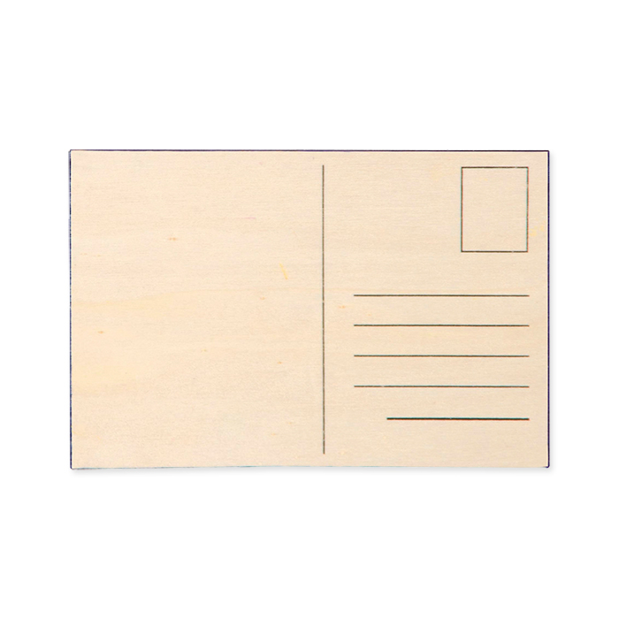 Glorex Plywood picture card