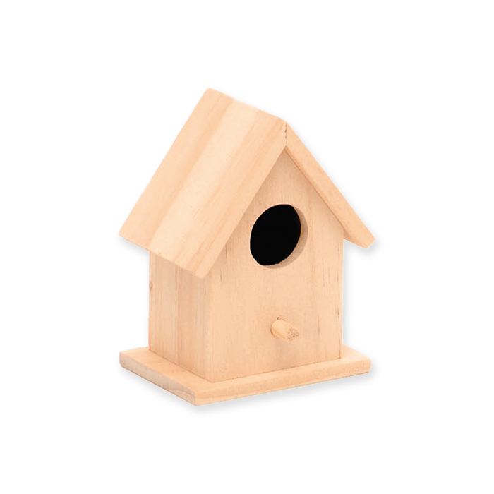Glorex Wooden bird house FSC