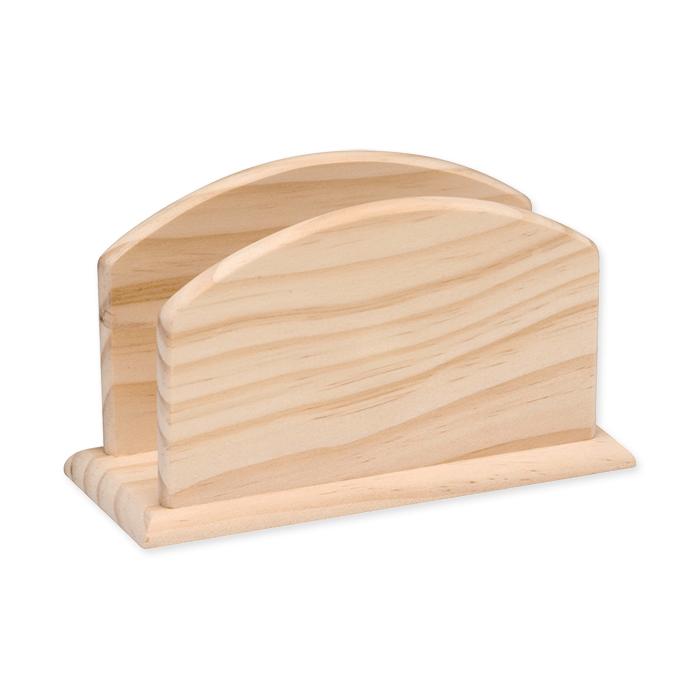 Glorex Wooden napkinholder FSC
