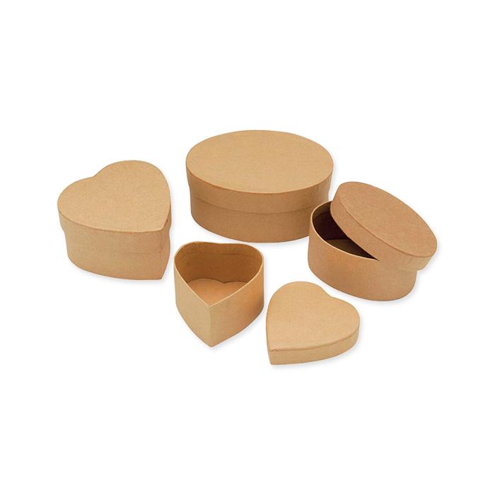 Glorex cardboard mini-boxes