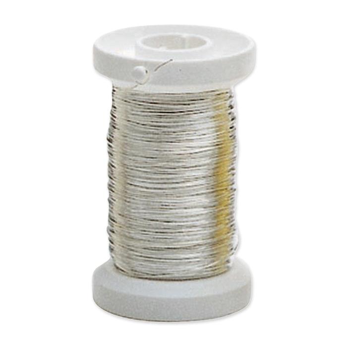 Glorex silver plated copper wire