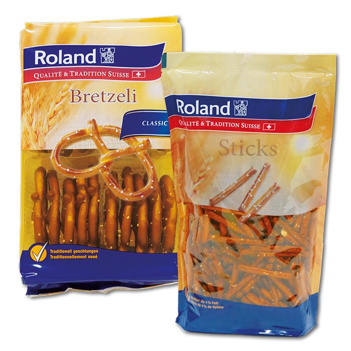 Roland Salted Apero pretzel 100 gr