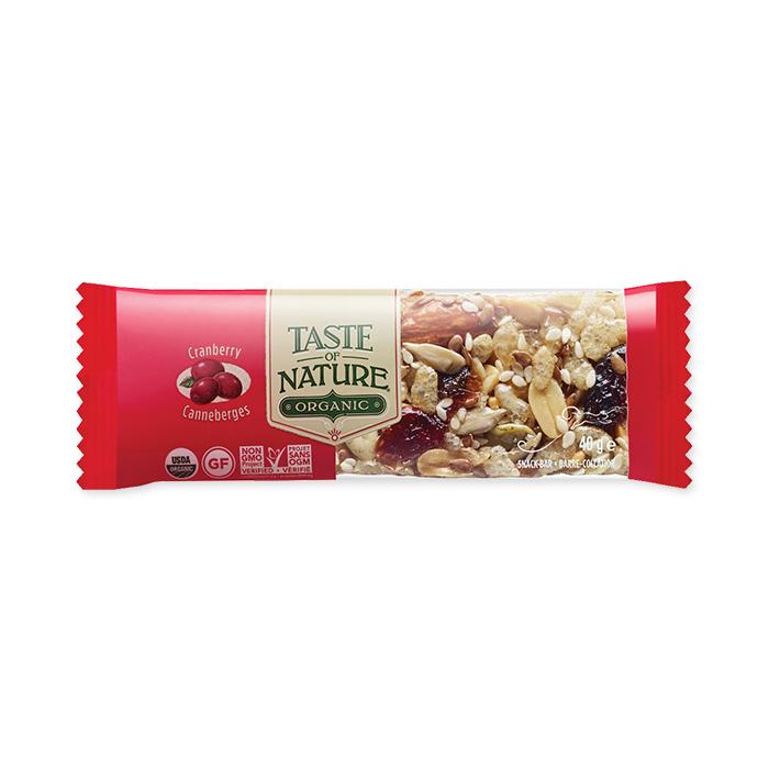 Taste of Nature - Bar Cranberry