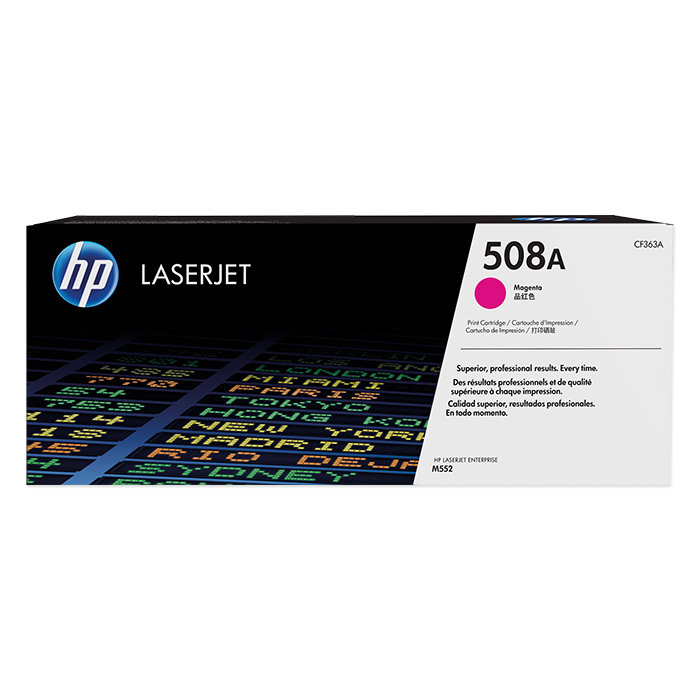 HP Toner cartridge No. 508 + accessories magenta, 5000 pages