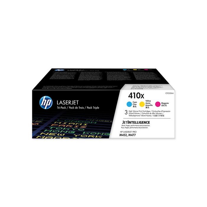 HP Toner-Modul Nr. 410 Tri-Pack CMY, 3 x 5000 Seiten