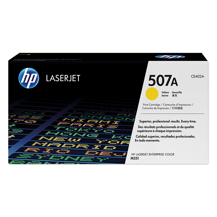 HP Toner-Modul No. 507 yellow, 6000 pages