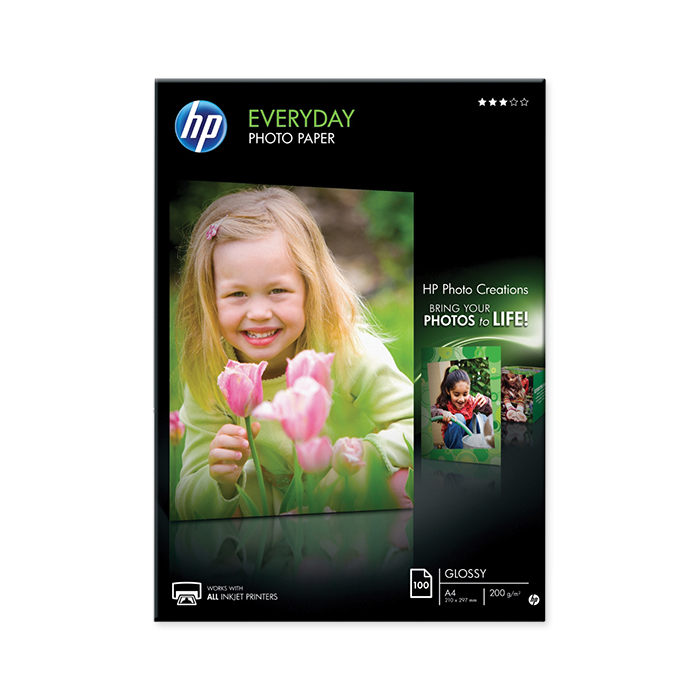 HP Ink-Jet Fotopapier Everyday
