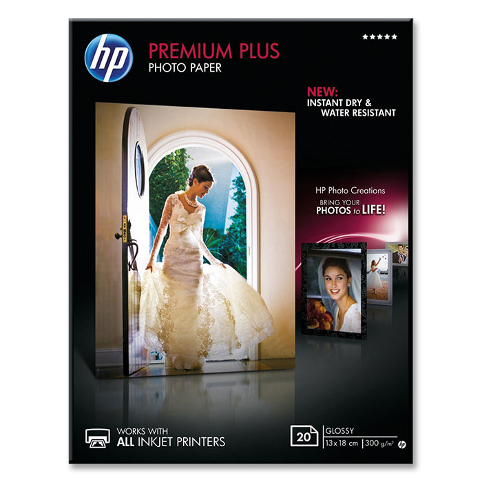 HP Ink-Jet Fotopapier Premium Plus