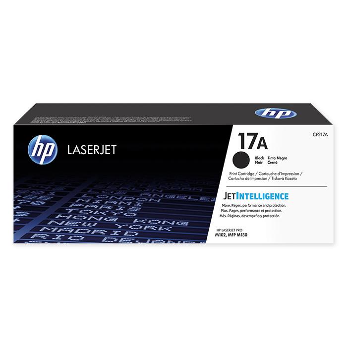 HP Toner-Modul Nr. 17 + Zubehör black, 1600 Seiten