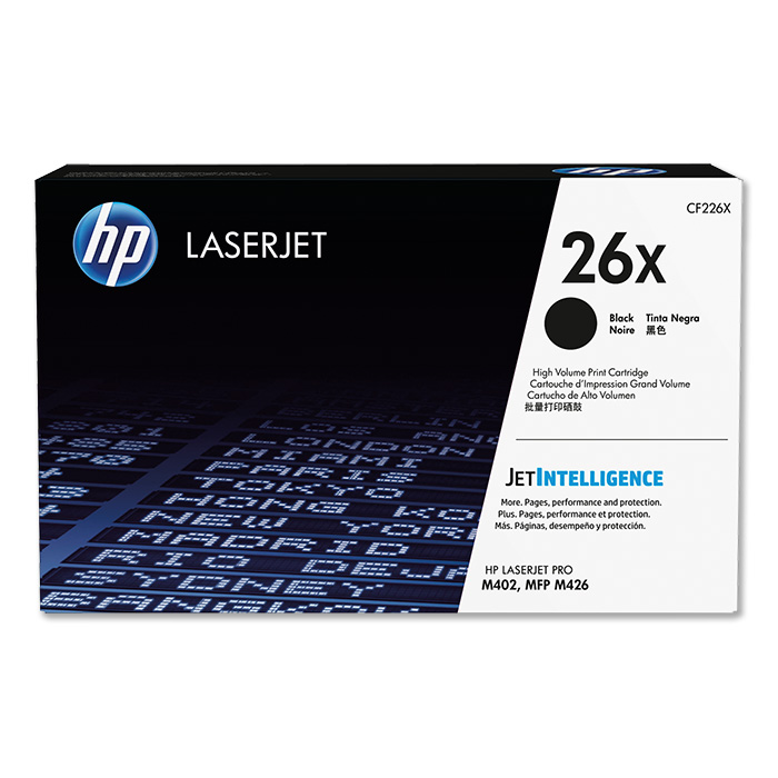 HP Toner cartridge No. 26 black, 2 x 9'000 pages