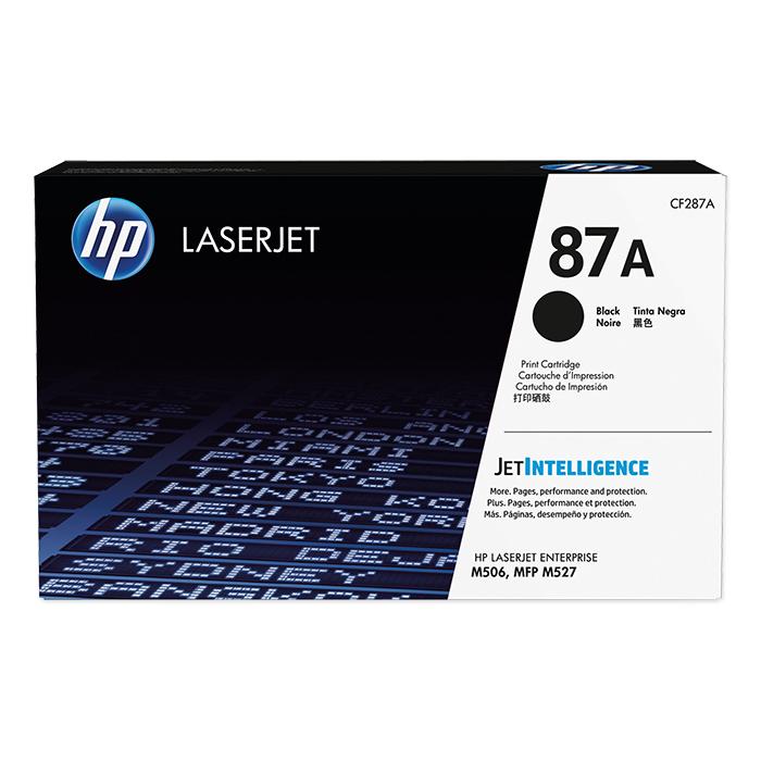 HP Toner-Modul Nr. 87 black, 9'000 Seiten