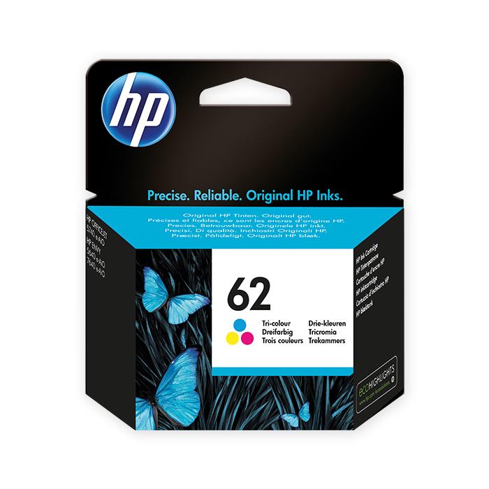 HP Tintenpatrone Nr. 62 color, 165 Seiten
