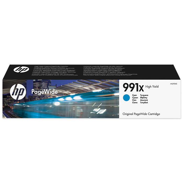 HP Toner cartridge No. 980 991X cyan, 16'000 pages