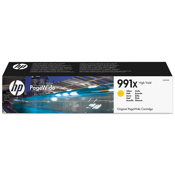 HP Toner cartridge No. 980 991X yellow, 16'000 pages
