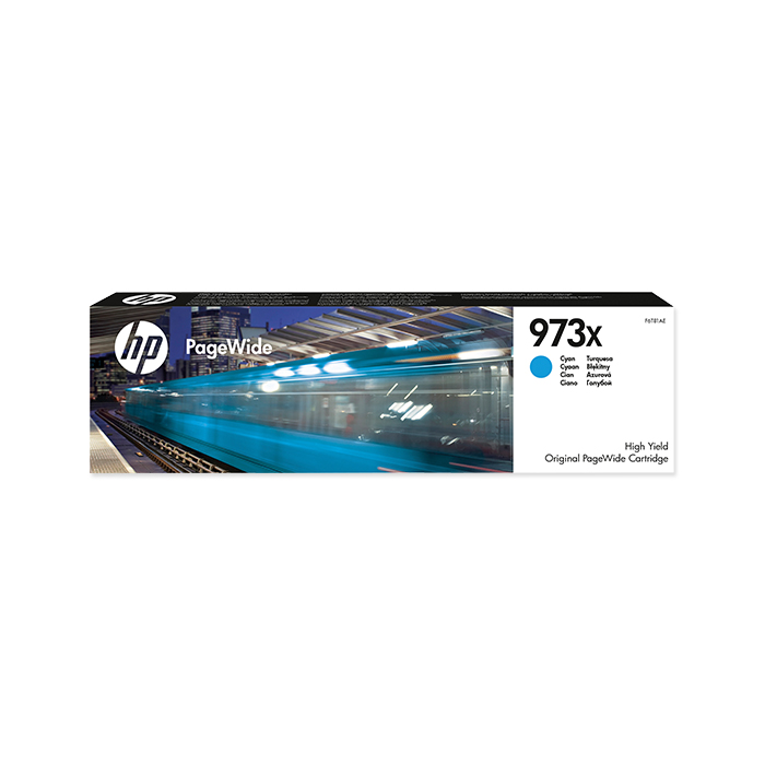 HP Toner cartridge No. 973 cyan, 7000 pages