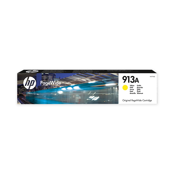 HP Inkjet cartridge No. 913 yellow, 3000 pages