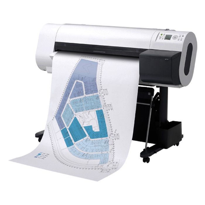 HP Plotterpapier Heavyweight Coated Paper