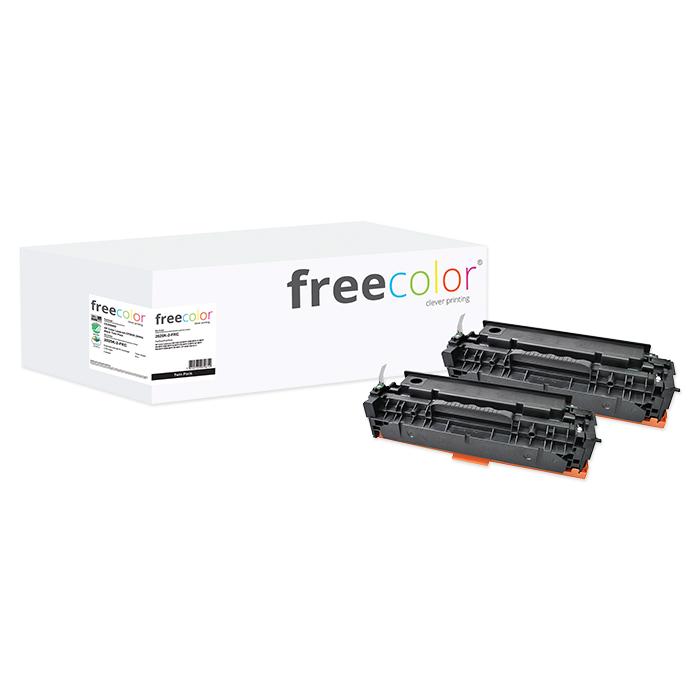 Free Color Toner CC530 schwarz, 2 x 3'500 Seiten