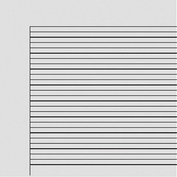 Hefte 3 mm liniert, Rand ringsum