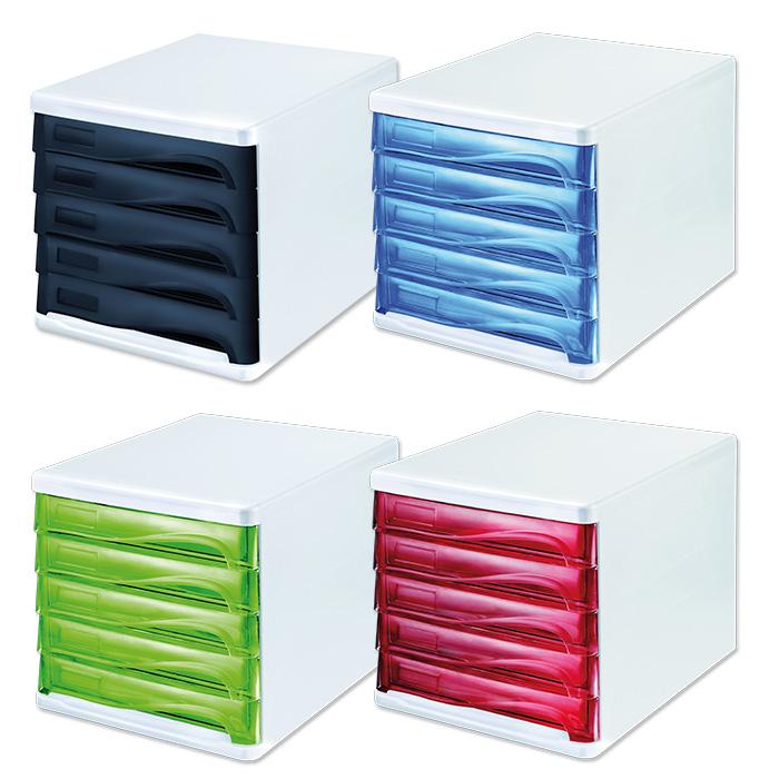 Helit Schubladenbox Colours