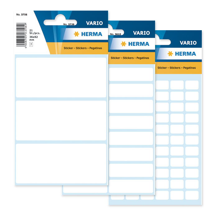 Herma Adhesive labels small white pack