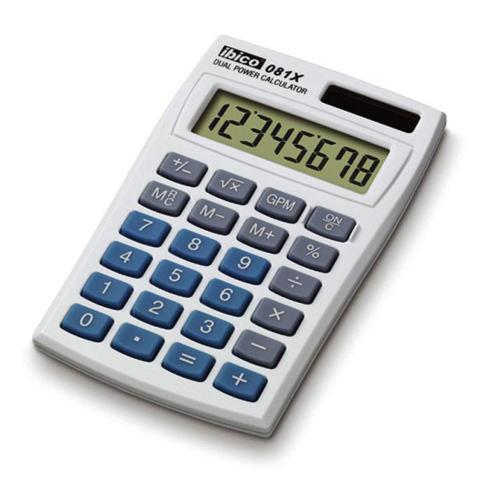 Ibico Taschenrechner 081X