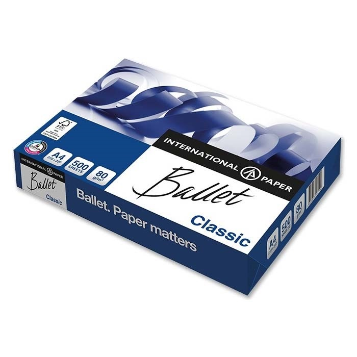 Ballet Photocopier paper Classic FSC A4, 80 g/m²
