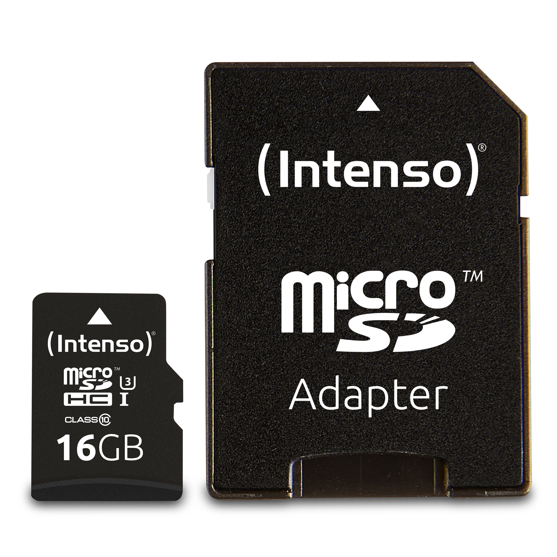 Intenso Micro SDHC/ SDXC Card PRO