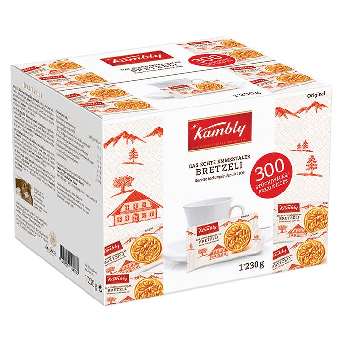 Kambly bricelets gastro portions