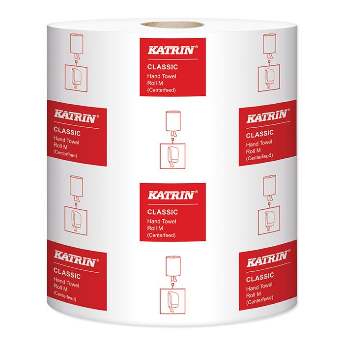 Serviettes Rouleau Katrin, Classic M 1 épaisseurs, 38 x 20,5 cm